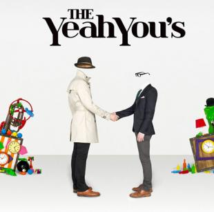 the yeah you's looking through you front cover