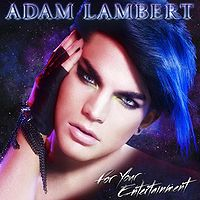 adam lambert for your entertainment front cover
