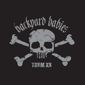 backyard babies them xx front cover