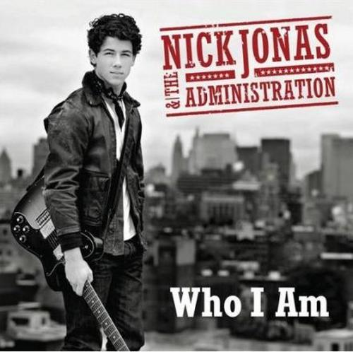 nick jonas & the administration who i am front cover