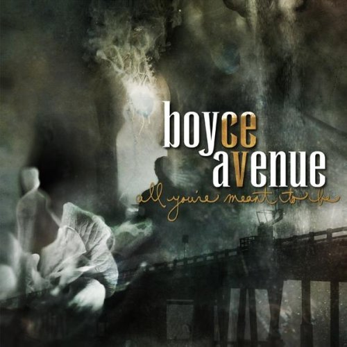 boyce avenue all you're meant to be front cover