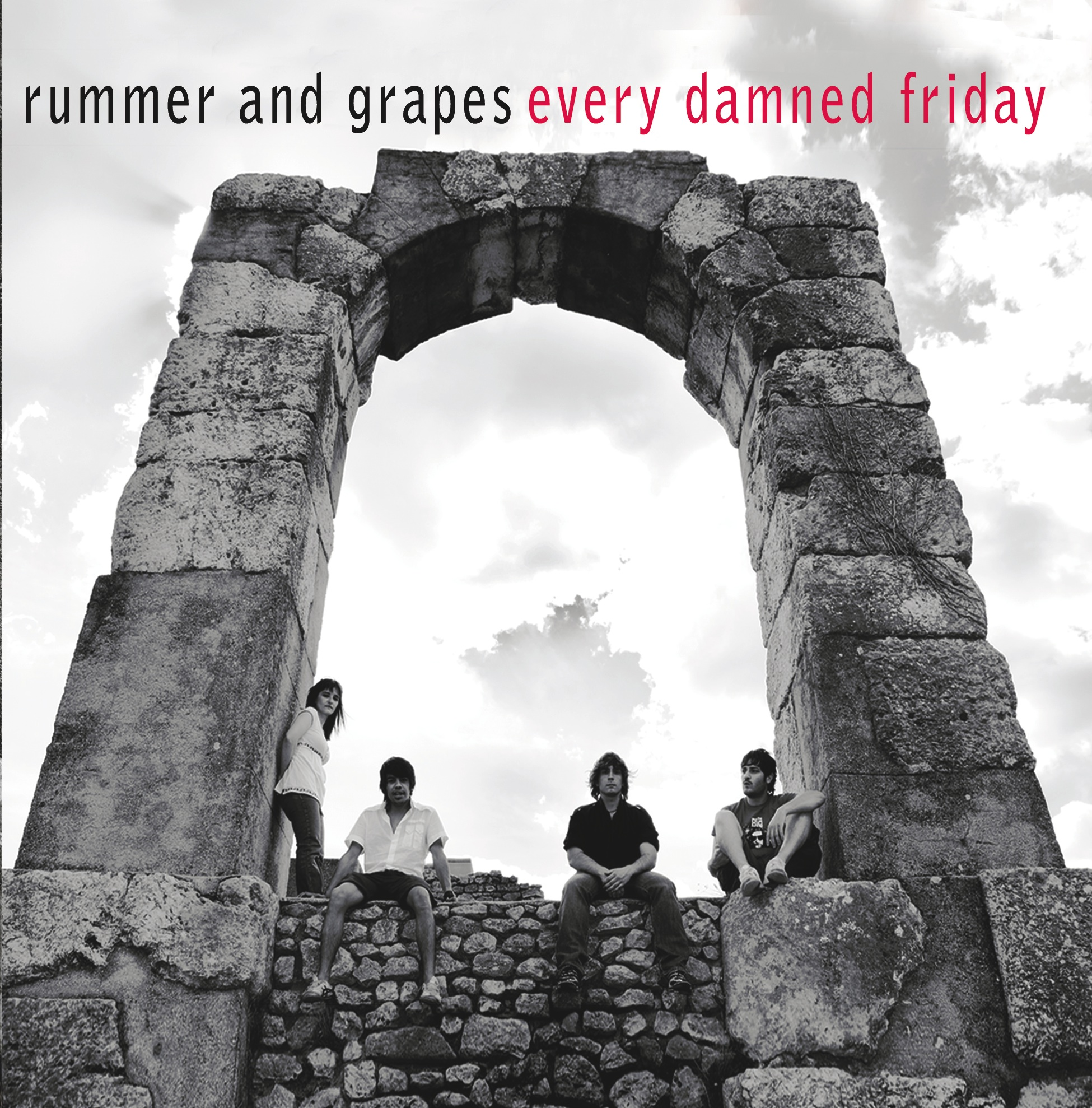 rummer  and grapes every damned friday front cover