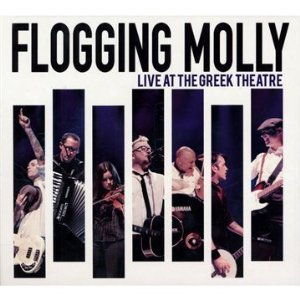 flogging molly live at the greek theater front cover