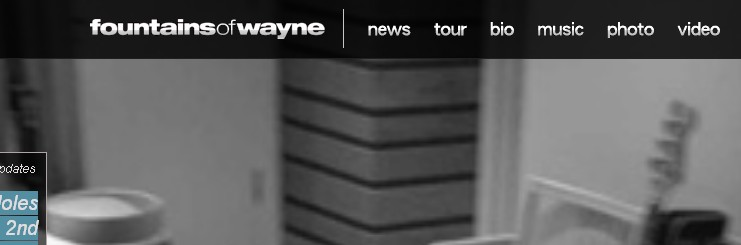 fountains of wayne website